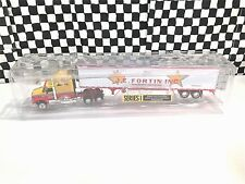 DCP International 9400i Tractor w/Refer Trailer-J. E. Fortin Transport-1:64 MIB
