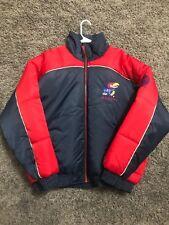 vintage Kansas Jayhawks jacket Coat Vintage Pro Player Puffer Coat KU Size XL