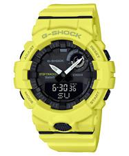 Casio G-Shock GBA-800-9A Step Tracker Bluetooth Mens Yellow Sports Watch