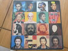 The Who - Face Dances  L.P - With poster