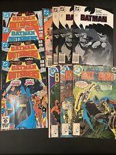 Batman (and The Outsiders )comics lot 11 Comics including Whitman Variants