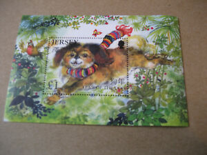 JERSEY    2006   HAPPY  NEW YEAR OF THE  DOG  SOUVENIR SHEET