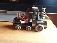 Älteres Räuchermännchen  mit Wagen Spieluhr Weihnachten Dachbodenfund Sammler