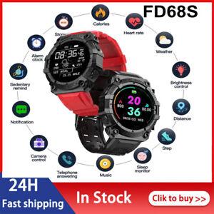 HOT!FD68S Smart Watch Sleep Heart Rate Monitor Fitness Tracker Smart Bracelet