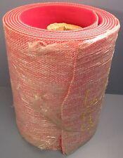 "Red Novitane P-75 150 Conveyor Belt 21' Length 16"" Width 0.23"" Thick Nwob"