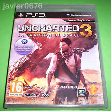 UNCHARTED 3 LA TRAICION DE DRAKE NUEVO Y PRECINTADO PAL ESPAÑA PLAYSTATION 3 PS3