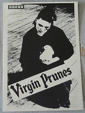 Carte Postale Postcard - VIRGIN PRUNES -