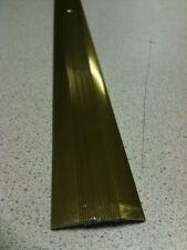 900MM STIKATAK  CARPET/LINO/LAMINATE COVERSTRIP GOLD EDGE THRESHOLD TRIM