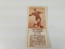 FOOTBALL BISCUITS REM REIMS VICTOR NURENBERG , 50s NO PANINI SOCCER