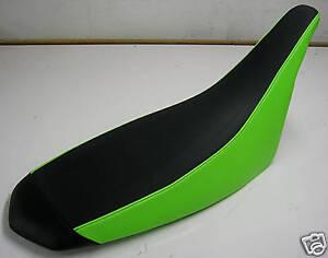 GREEN SEAT COVER KAWASAKI KFX 450 ULTRA GRIPP SERIES BLACK