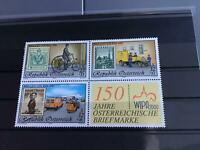 Austria 150 years of Austrian post mint never hinged stamps sheet  R23240