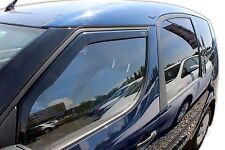 Skoda Roomster 2006-up Front wind deflectors 2pc Internal Fit TINTED HEKO