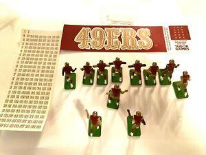 Tudor  Electric Football 49ers in Dark