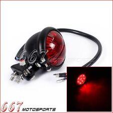 Hot Rod LED Tail Stop Light Bates For Bobber Chopper Cafe Racer XS650 CB 750 US