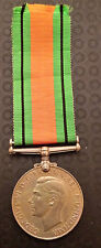 ORIGINAL DEFENCE MEDAL WORLD WAR II 1939-1945 WITH RIBBON