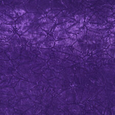 C864 Purple Classic Soft Crushed Durable Velvet Upholstery Fabric By The Yard