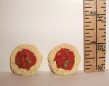 RE-MENT DOLL MINIATURE 1/6 SCALE SPAGHETTI MEATBALLS FOOD LOT ACCESSORY RETIRED