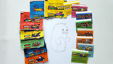 ODRA BRZEG CARS 15 WRAPPERS FROM BUBBLE GUMS CARS COLLECTION RARE
