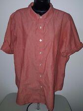 Venezia Jeans Womens Plus Multi Color Striped Button Down Shirt Top Size 20