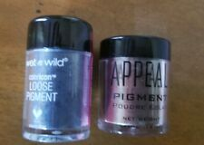 NEW LOT Bundle LOOSE PIGEMENT Powder Eyeshadow Army Green & Blue Makeup Shimmery