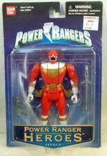 Power Rangers Heroes Series 14 - Wild Force Red Ranger By Bandai (MOC)