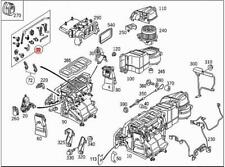 Genuine MERCEDES Hvac Control Knob Lever Kit A209 C209 CL203 S203 2038300032