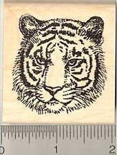 Tiger Rubber Stamp, Panther, Big Carnivorous Cat, Bengal, Indochinese H4113 WM