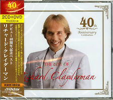 RICHARD CLAYDERMAN-40 YEARS ANNIVERSARY BEST-JAPAN 2 CD+DVD L15