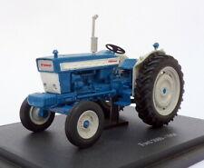 Hachette 1/43 Scale Model Tractor HT085 - 1964 Ford 5000 - Blue