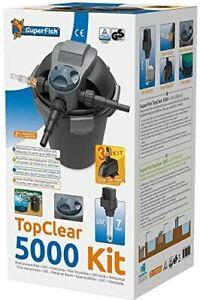Superfish TopClear Set Druckfilter 5.000 inkl. UVC 7  Watt und Teichpumpe