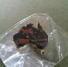 1 X PANTHERS THE SUNDAY TELEGRAPH AUSTRALIA DAY 2001 PIN BRAND NEW