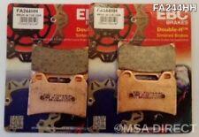 Aprilia SL1000 Falco (2000 to 2004) EBC Sintered FRONT Disc Brake Pads (FA244HH)