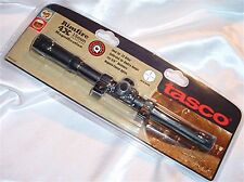 Tasco 4 X 15mm .22 Rifle or Air Gun Scope & Rings RF4X15D