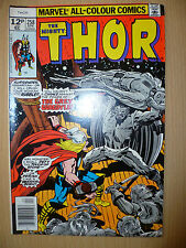 THE MIGHTY THOR Marvel Comics, APRIL, 1977 Issue, Vol.1, No.258