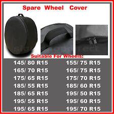 R15 Spare Wheel Cover Tyre Tire Storage Bag Car Van Caravan Motorhome Truck RW53