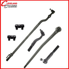 6 Pc Steering Kit Ford Excursion F-250 SD F-350 SD 99-05 Tie Rod Ends Link 4WD