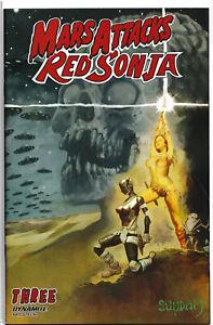 MARS ATTACKS RED SONJA #3 (SUYDAM STAR WARS HOMAGE VARIANT) ~ Dynamite