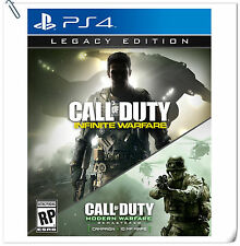 2 IN 1 PS4 Call of Duty Infinite Warfare Legacy COD Games Activision Action