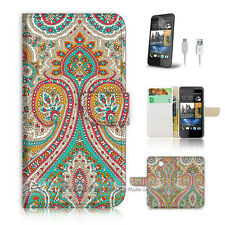 ( For HTC Desire 310 ) Case Cover! Indian Tribal Pattern P0023