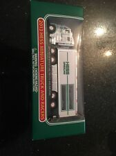 2013 HESS MINIATURE 2003 TRACTOR TRAILER TRUCK TRANSPORT AND RACERS