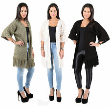 Acrylic Waist Length No Pattern None Women's Jumpers & Cardigans