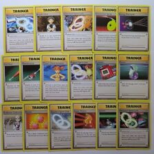 Complete XY EVOLUTIONS Trainer Pokemon Cards Set