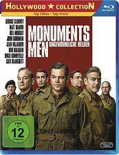 MONUMENTS MEN, Ungewöhnliche Helden (Matt Damon, George Clooney) Blu-ray Disc