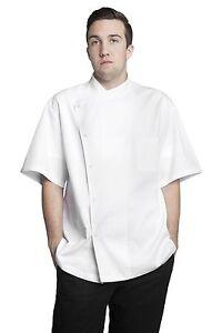 Bragard Men's Julius Short Sleeve Chef Jacket Size 34-62 White