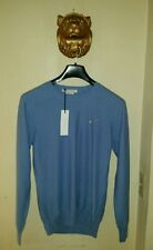 $900 MARC JACOBS Men's Blue  Cashmere Silk  Crew neck Sweater Size Small