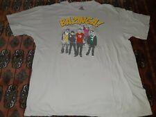 Big Bang Theory Bazinga Shirt 2XL Mens Light Tan Short Sleeve T Shirt