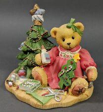 Cherished Teddies ~ Lynn - A Handmade Holiday Wish - 1997 Catalog Exclusive