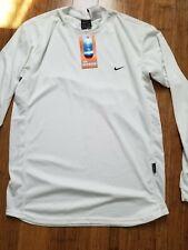 Nike DriFIT Alpha series Long sleeves Tennis shirt White  Brand new with tag