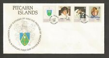 PITCAIRN ISLANDS 1982 PRINCESS DIANA 21ST BIRTHDAY FDC SG,226-229 LOT 5478A