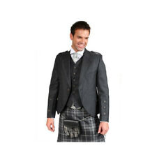 Scottish fatta da Uomo Tweed Crail Kilt Giacca Gilet Inc.